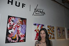 Huf Unveils Chloé Kovska Collab Line at South Central LA Party