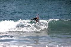 Conlogue Win An Upset at Vans US Open of Surfing