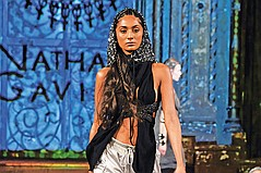 Los Angeles Designers Show at Art Hearts Fashion During New York Fashion Week
