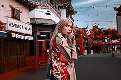Fund-raiser for Model Anna Leo