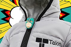 Talon Develops New Style of Zippers