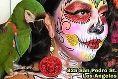 Dia De Los Muertos Comes Early to California Flower Mall