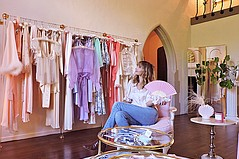 Delicate Handmade Treasures by Dakota Jinx Add Glamour to Sustainable Garments