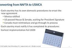 美国参议院批准的USMCA,特朗普签署的中国协议第一阶段