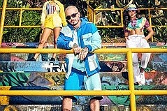 GUESS? Incorporates Colores with J Balvin Collaboration