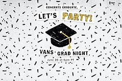 Vans Throws Virtual 2020 Grad Night