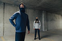 Hi-Tec Venture Series' Hoodie With Built-in Mask