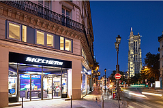 Skechers Flagship Opens on Rue de Rivoli in Paris