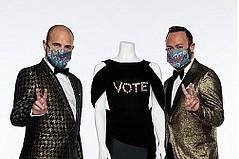 FIDM Fashion-Design Co-Chairs Introduce 'Vote! It's in Fashion' Campaign