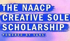 Naacp Creative唯一的奖学金由Vans推出推出,以支持黑人学生的创意