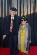 Gordon Harvey and Mary Rose, governor of the Academy of Television Arts and Sciences Costume Design & Supervision Peer Group