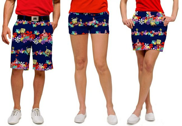 Loudmouth Golf's SpongeBob Squarepants collection
