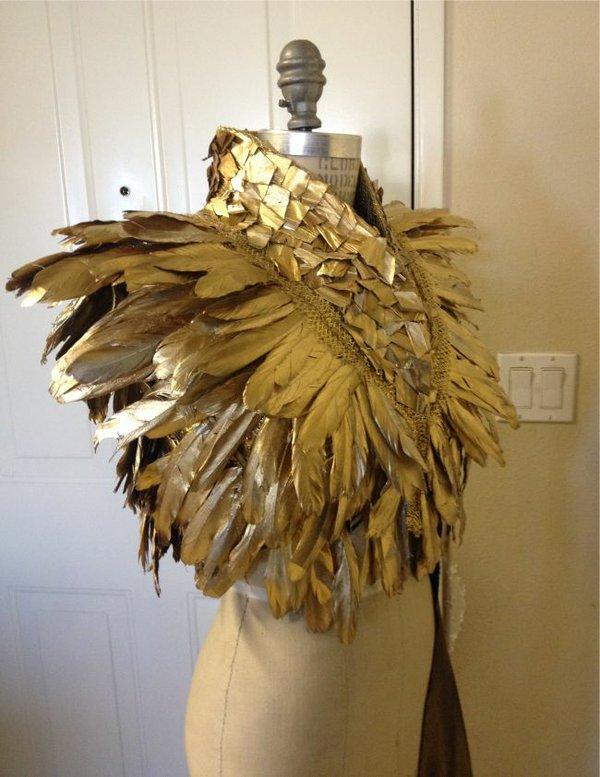 Oscar Olima's gold vest. Image courtesy Oscar Olima.
