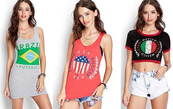 Forever 21's Soccer Collection