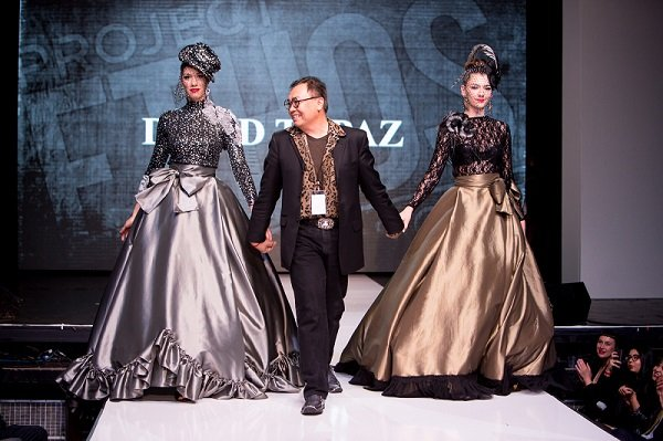 David Tupaz on the runway at Project Ethos in March 2014 (photo by John Eckmier)