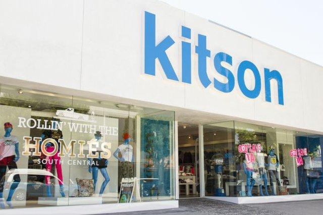 Kitson's remodeled storefront. Photo courtesy Kitson.