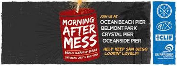 Poster for 2014 Morning After Mess campaign.