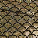"Pine Crest Fabrics ""Gold Mermaid Scales"""