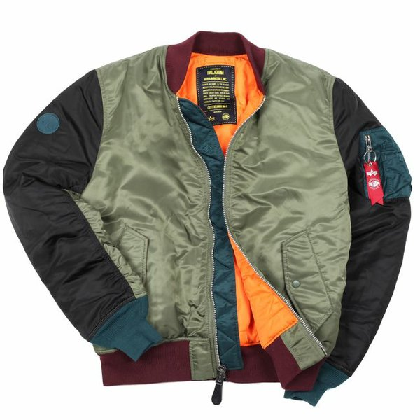 Jacket from Palladium x Alpha Industries. Photo courtesy Palladium.