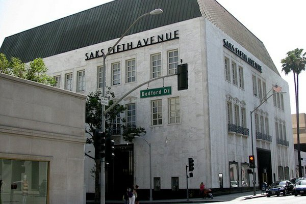 Saks Fifth Avenue, Beverly Hills