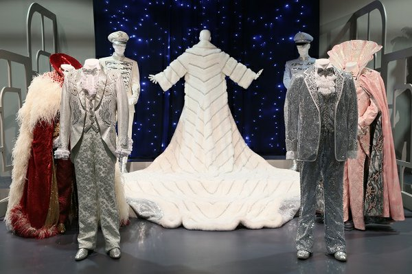 """Behind the Candelabra"" costumes by Ellen Mirojnick, 2013 Emmy winner for Outstanding Costumes for a Miniseries, Movie or a Special."
