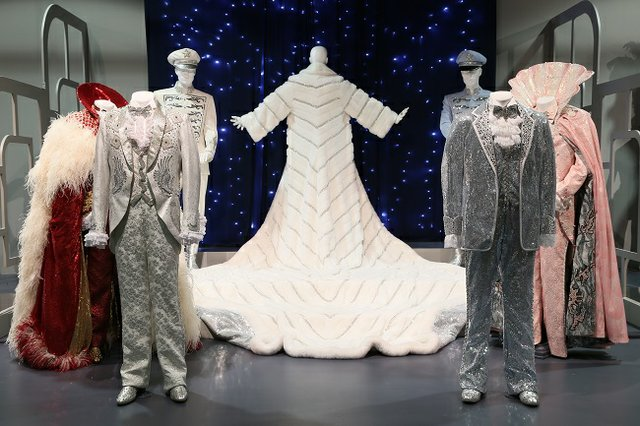 """""""Behind the Candelabra"""" costumes by Ellen Mirojnick, 2013 Emmy winner for Outstanding Costumes for a Miniseries, Movie or a Special."""
