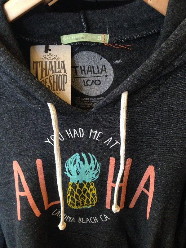 A piece from the LCAD+Thalia Surf Shop collaboration