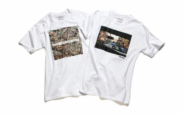 The Hundreds X Haiti T-shirts. Image via The Hundreds.