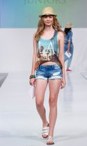 Heart-n-Crush top, YMI short, The Accessory Collective hat