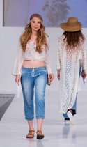 Living Doll top, Unionbay cropped jogger