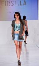 Priem top, June and Hudson jacket, Bella Dahl short