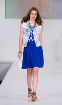 A. Byer dress, YMI Jeans vest