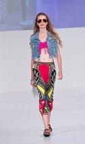 Eco Peace bikini top, Highway Jeans vest, Say Way pant