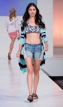 Belldini duster, Lucky Brand bikini top, Vanilla Star short