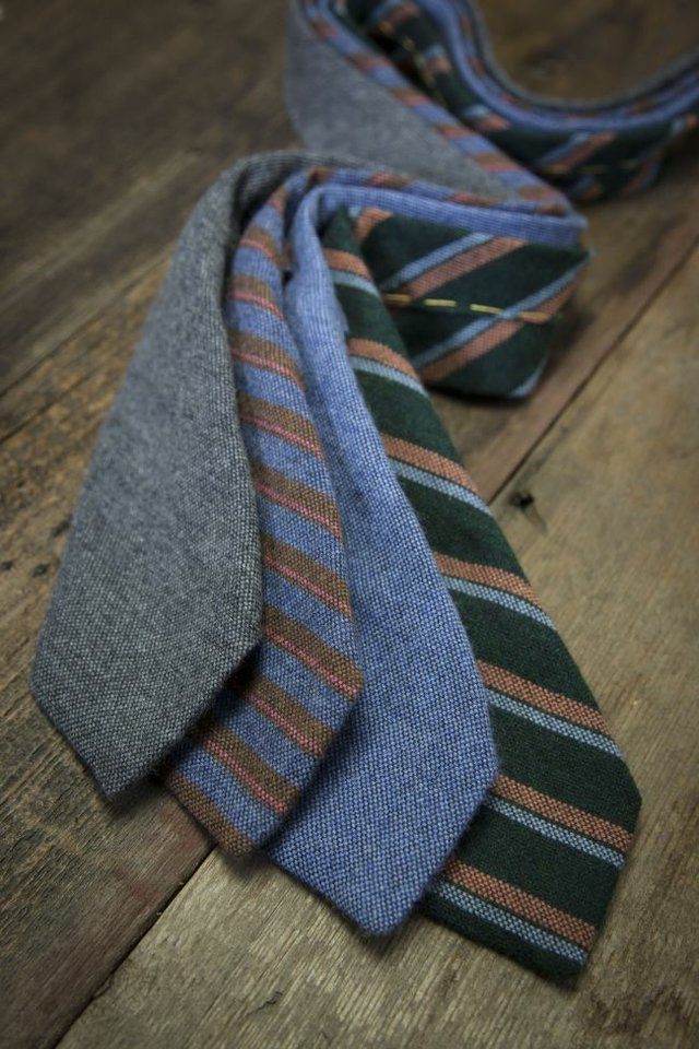 Ties from Robert Talbott at Neiman Marcus. Image courtesy Robert Talbott.