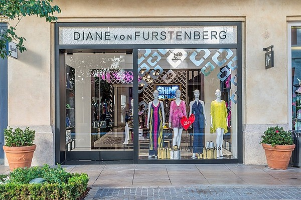 The designer's new store at The Grove