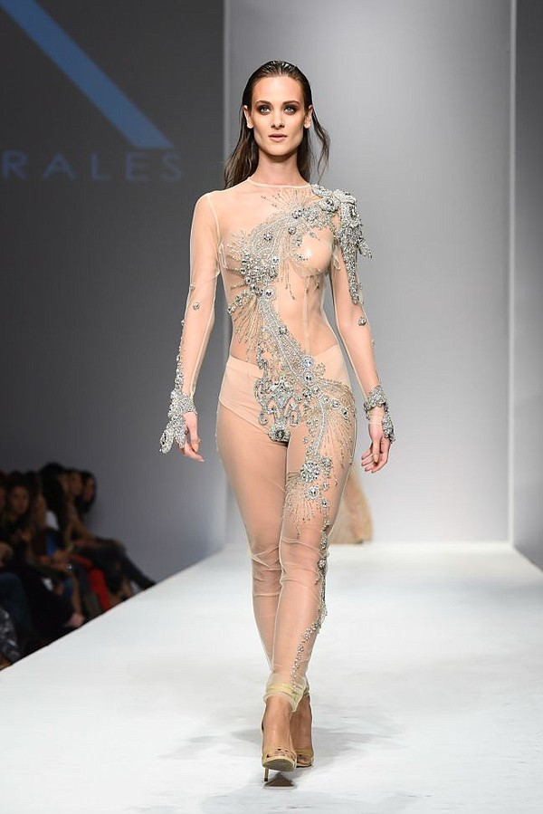 From Kaye Morales Style Fashion Week show in October. Courtesy Kaye Morales.