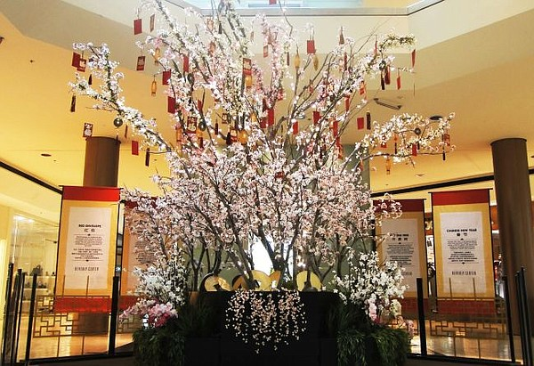 Wishing Tree at Beverly Center. Art courtesy Beverly Center.