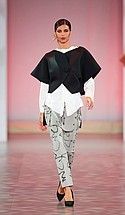 FIDM designer Jette Kavanagh created this outfit.
