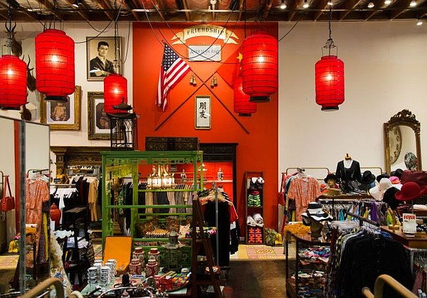 American Rag Cie's shop-in-shop for Chinese designers. Photo credit Vladlina Syrkin.