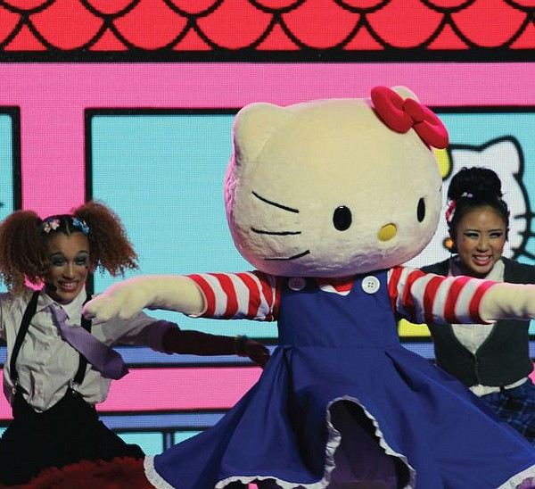 Hello Kitty costume from Supercute Friendship Festival. Courtesy Sanrio.