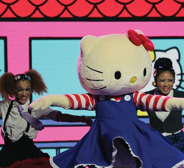 Hello Kitty costume from Supercute Friendship Festival. Courtesy Sanrio.