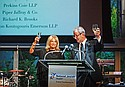 Previous honoree Debbie Steinberg and Ron Friedman, Marcum LLP, served as dinner chairs for the event.