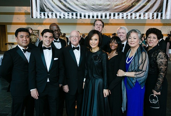 HANA FINANCIAL TEAM: Patrick Shim, Federico Farani, Kevin Thomas, John Steiner, Sunnie S. Kim, Clark D. Griffith, Charlotte Gardner, Robert Pruden, Young Shim and Rosario Jauregui (Photo by Skip Hopkins Photography)