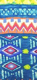 Triple Textile Inc. #RSP-9-B Rayon Spandex Print