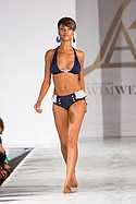 Cirone Swim on the runway during Los Angeles Swim Week at the London Hotel. July 23rd 2015