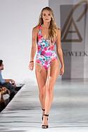 Leonisa Beachwear on the runway during Los Angeles Swim Week at the London Hotel. July 23rd. 2015