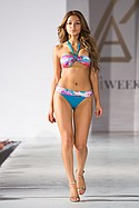 Leonisa Beachwear on the runway during Los Angeles Swim Week at the London Hotel. July 23rd. 2015