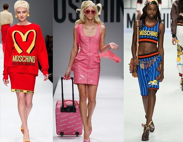 Jeremy Scott's collections for Moschino