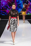 Gregorio Sanchez designs on the runway at Art Hearts Fashion during Los Angeles Fashion Week 10-5-2015